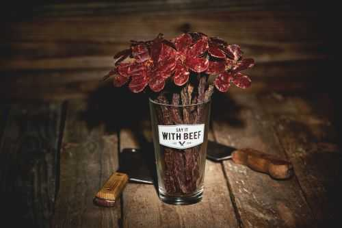 Beef Jerky Rose Bouquets 003