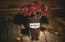 Beef Jerky Rose Bouquets Featured