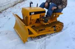 Cat Mini Dozer Featured