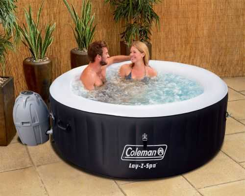 Coleman Lay-Z Portable And Inflatable Outdoor Spa 005