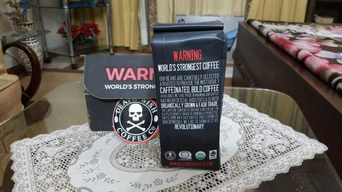 Death Wish Coffee Is The World's Strongest Coffee price, reviews and where to buy 301