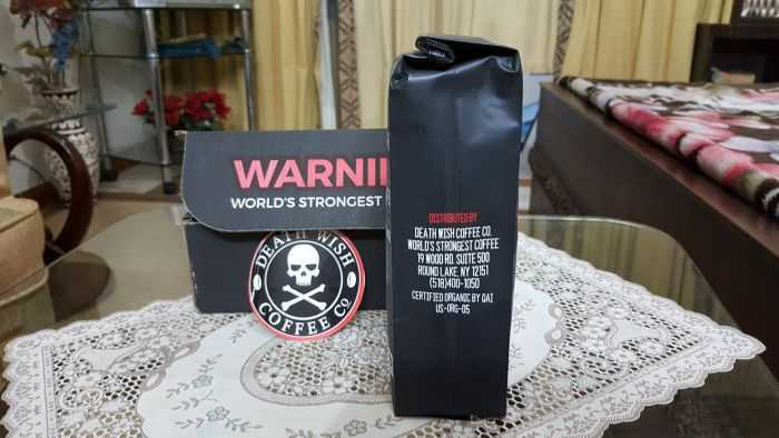 Death Wish Coffee Is The World's Strongest Coffee price, reviews and where to buy 304