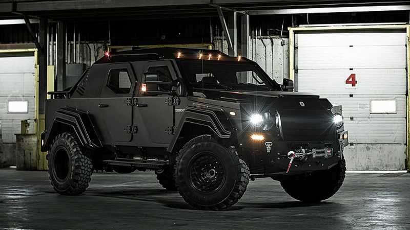 Gurkha Tactical Armored Vehicle Featured