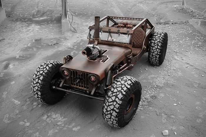 Hauk Designs Rat Rock Jeep 008