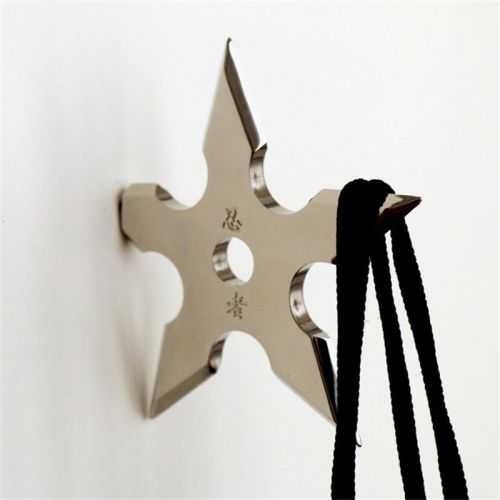Ninja Star Coat Hangers 003