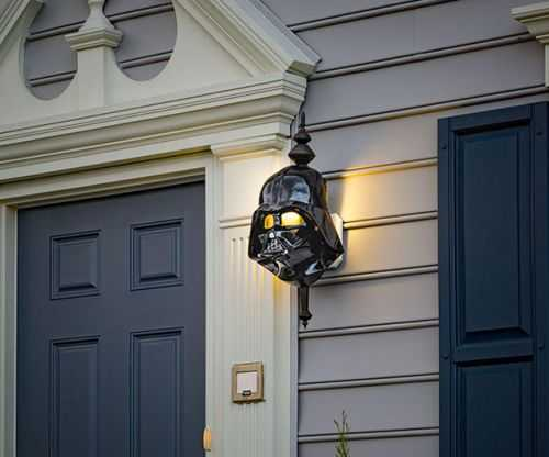 Star Wars Porch Light Cover 002