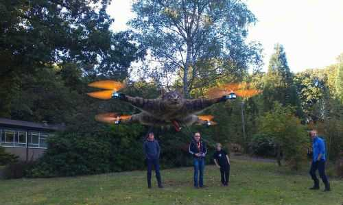 Taxidermy Animal Drones - From Copter-Company 003