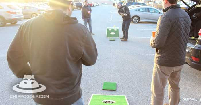 Chippo - When You Cross Golf With Cornhole 003