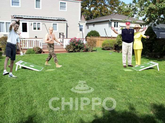 Chippo - When You Cross Golf With Cornhole 004