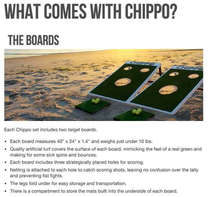 Chippo - When You Cross Golf With Cornhole 005