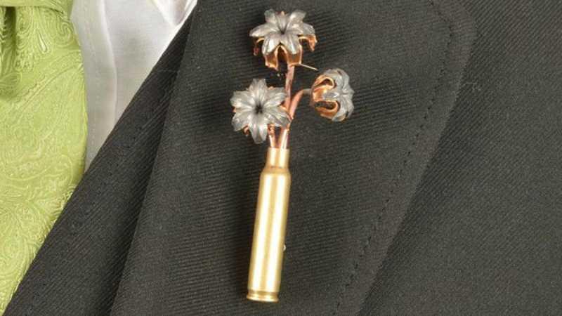 Bullet Bouquets Boutonnière featured