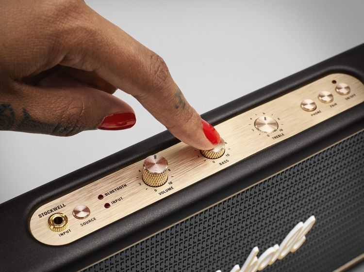 Marshall Stockwell Portable Bluetooth Speaker 4001