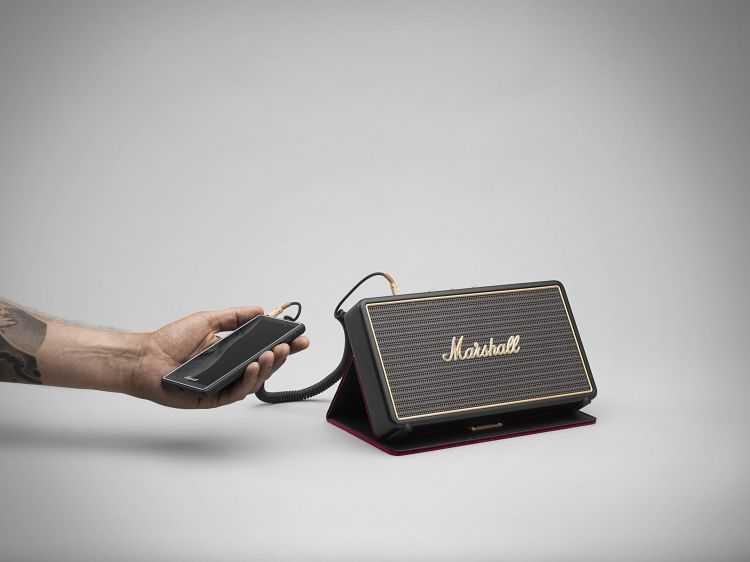 Marshall Stockwell Portable Bluetooth Speaker 4002