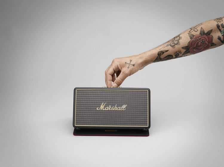 Marshall Stockwell Portable Bluetooth Speaker 4003