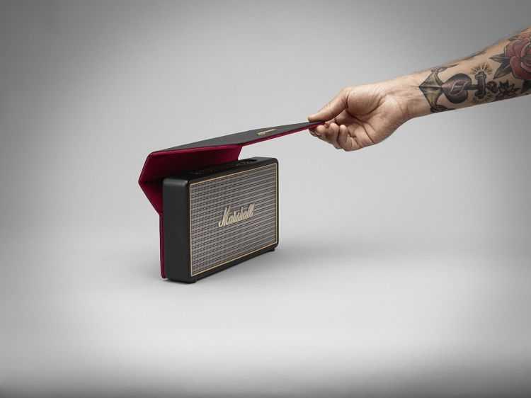 Marshall Stockwell Portable Bluetooth Speaker 4005