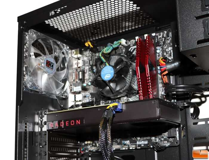 CYBERPOWERPC Gamer Xtreme VR Desktop Gaming PC price and review internal 201