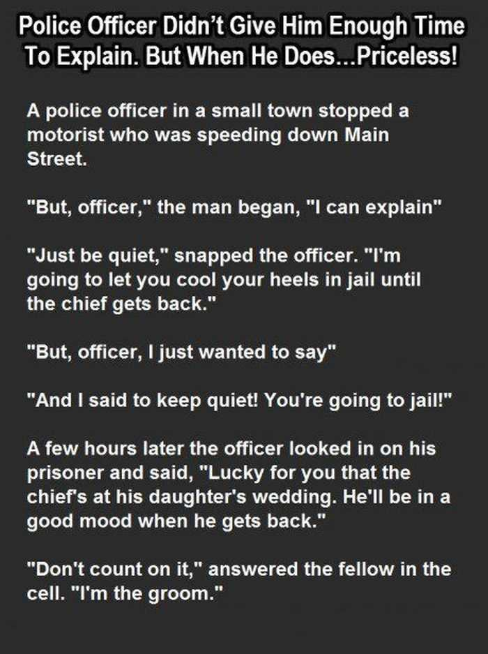 Short Story Hilarious one about a speeding motorist