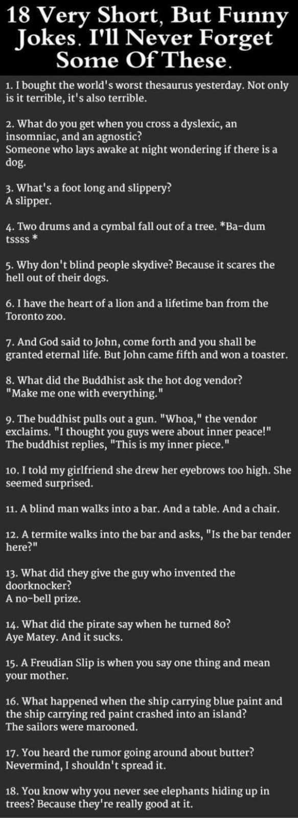 Jokes And Short Stories 212