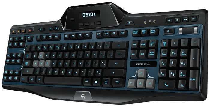 Logitech G510s Gaming Keyboard With Game Panel LCD Screen review and price 301