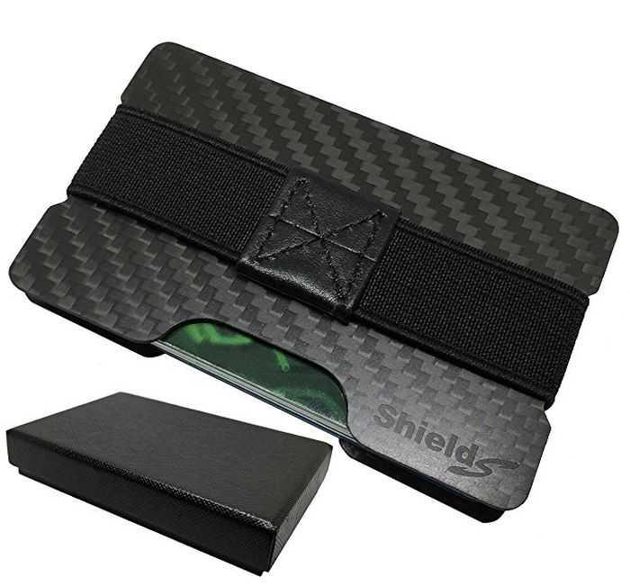 ShieldSurvival RFID Blocking Slim Carbon Fiber Wallet review and price 301