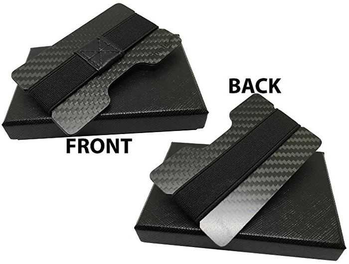 ShieldSurvival RFID Blocking Slim Carbon Fiber Wallet review and price 303