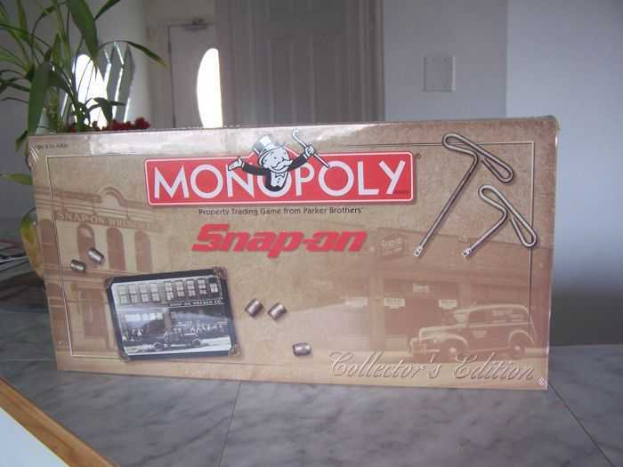 Snap-on Tools Monopoly Collector's Edition 402