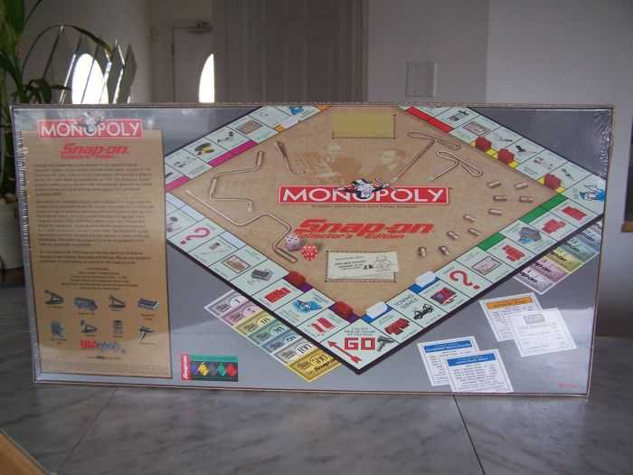 Snap-on Tools Monopoly Collector's Edition 403