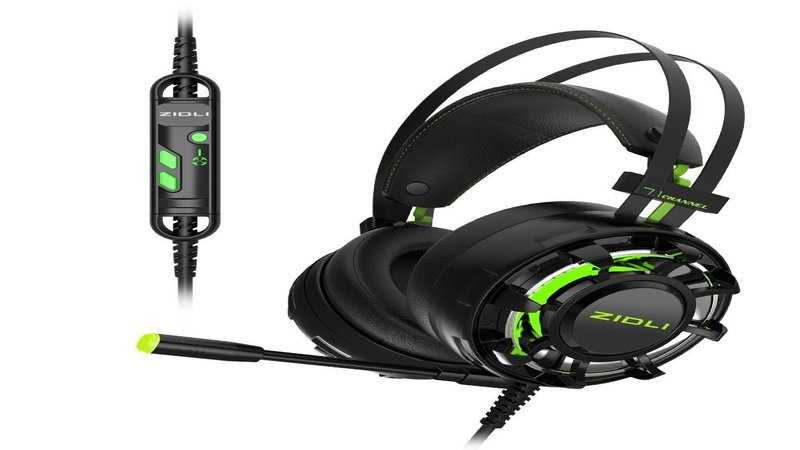 ZIDLI ZH7 7.1 Surround Sound Gaming Headset With LED Light featured