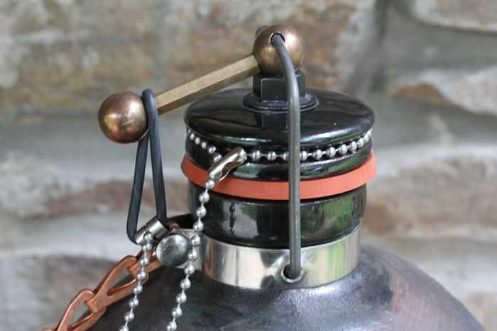 Ceramic Stoneware Cannonball Beer Growler 501
