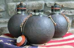 Ceramic Stoneware Cannonball Beer Growler Featured