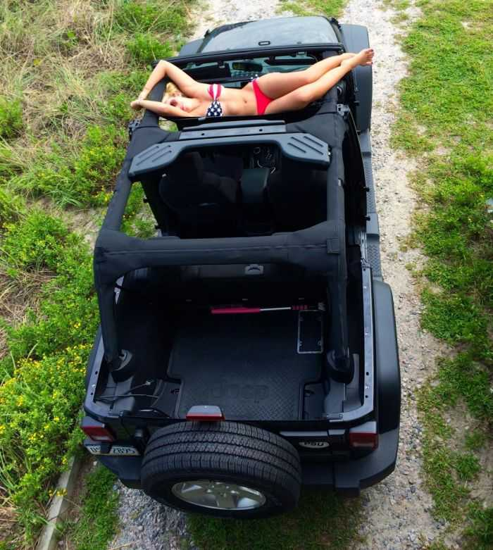 Jammock Is A Hammock For Your Jeep Or Truck 302