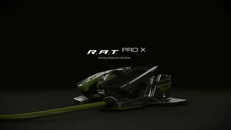 Mad Catz R.A.T. PRO X Ultimate Gaming Mouse review and price Featured