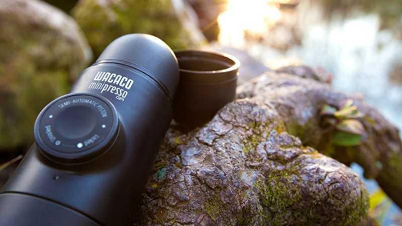 MiniPresso GR Espresso Maker review and price Featured