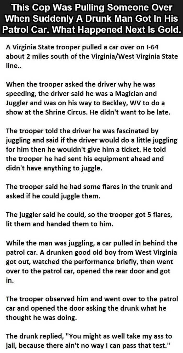 Hilarious Short Stories - This is one about a speeding juggler