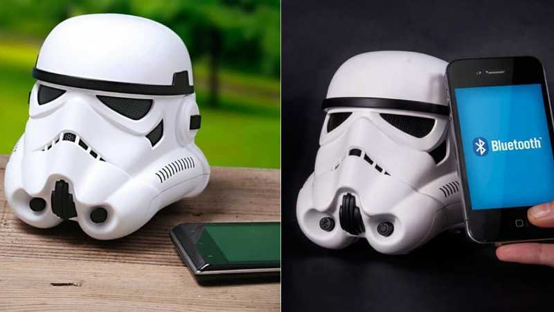 Stormtrooper Bluetooth Speaker Featured