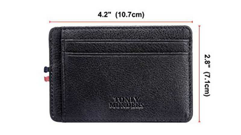 Tonly Monders Genuine Leather RFID Blocking Men's Slim Wallet review Featured