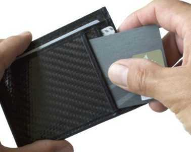 WAVY Modern Carbon Fiber Wallet Review Featured