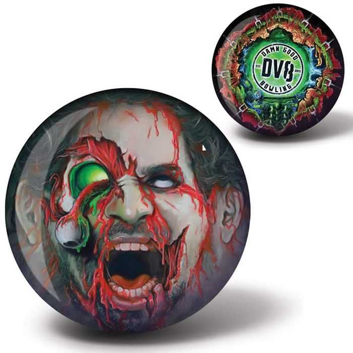 Zombie Bowling Ball By DV8 402
