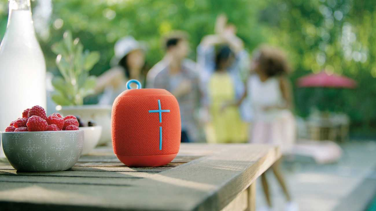 Wonderboom Waterproof speaker is good for outdoor trips