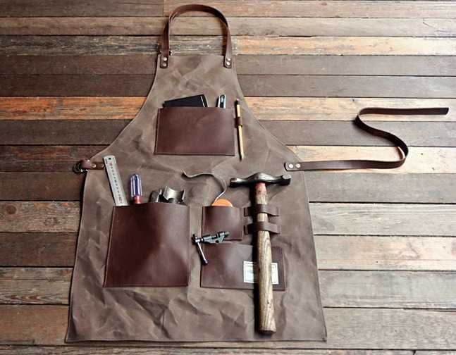 Gentleman's Apron Filled with Tools