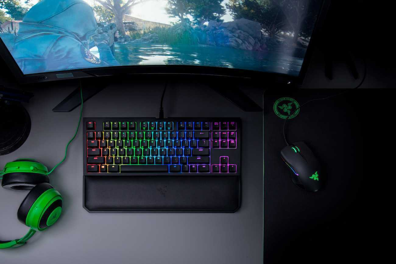 Top Down View Razer Chroma V2