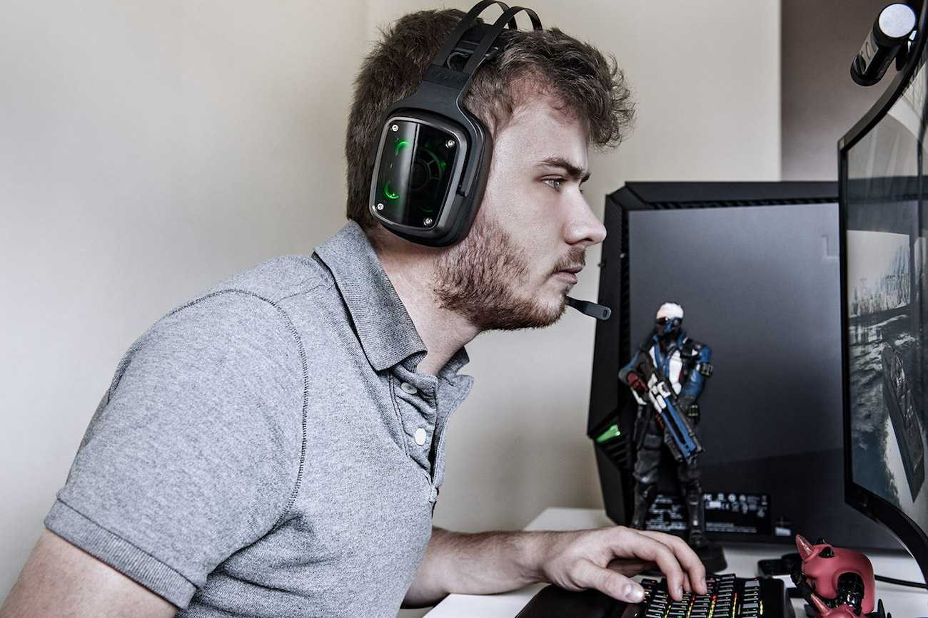 Testing the Razer Headsets