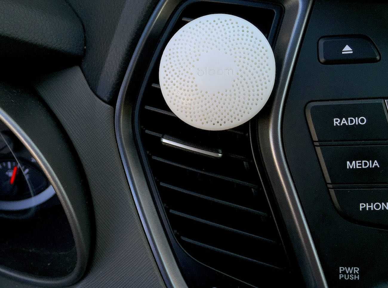 You Can Also Take the Bloom Portable Air Quality Monitor In a Car With You