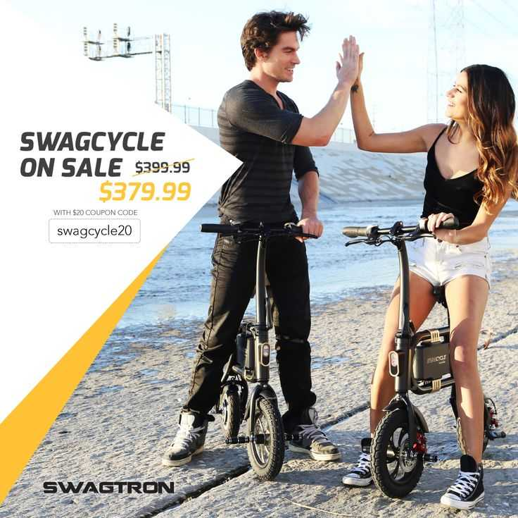 SwagCycle On the Beach