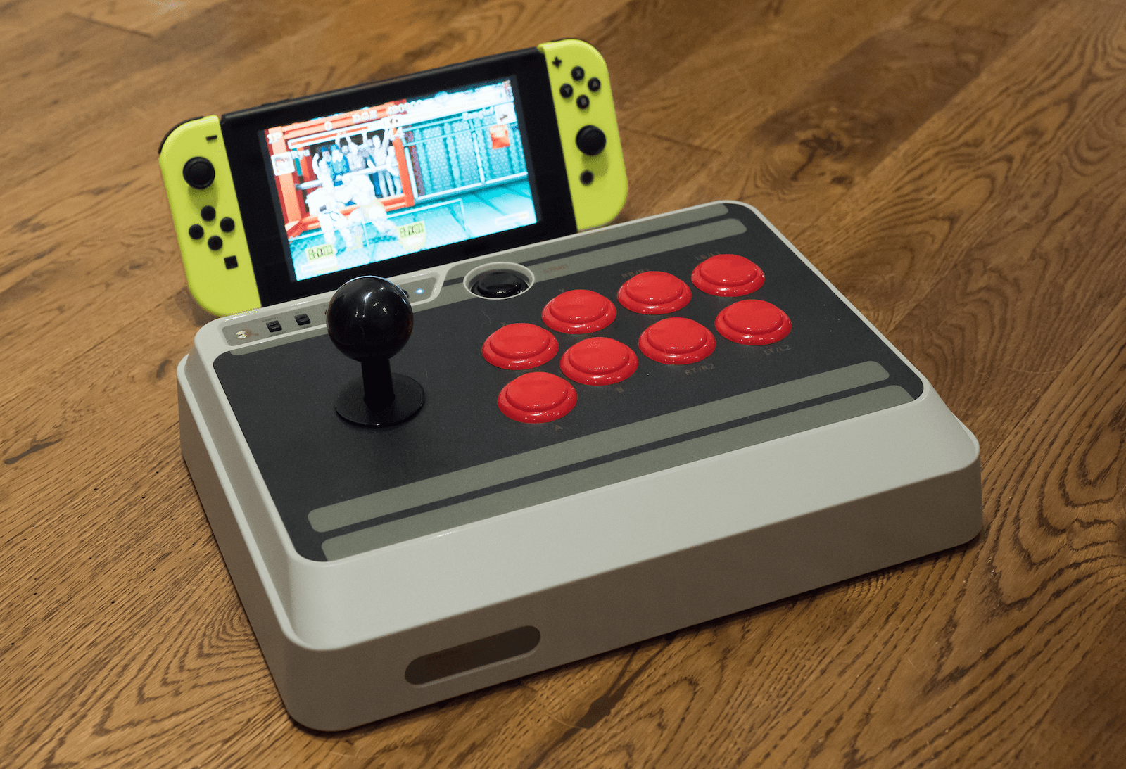 8Bitdo Nes30 Arcade Stick Supports Nintendo Switch