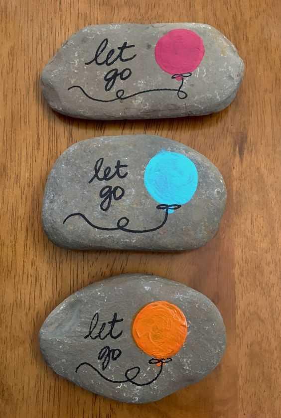 47 Inspirational Painted Rock Ideas ,