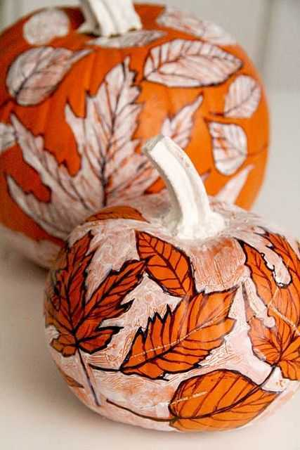 36 DIY Ways to Paint a Pumpkin This Fall