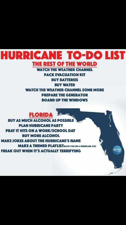 20 Hurricane Memes For Floridians