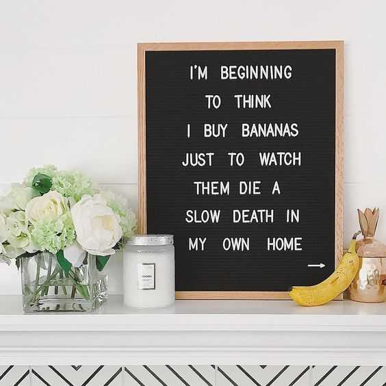 17 Hilarious Letterboard Quotes