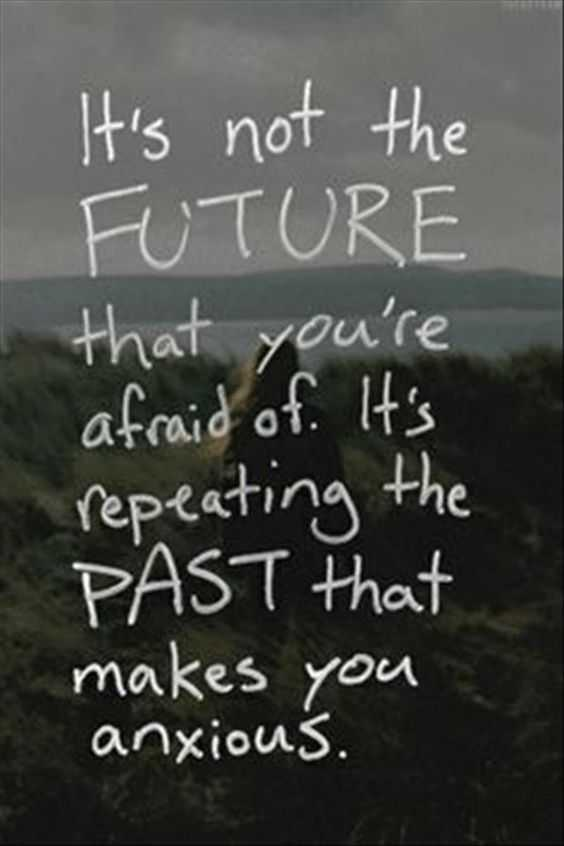 Quote about not looking back